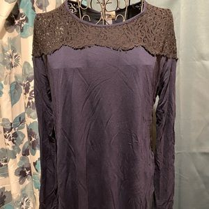 Old Navy Lace Top Ladies Tunic